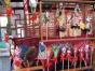 各类民俗表演,笼嘴大铜壶,熟梨糕,京剧,糖人等