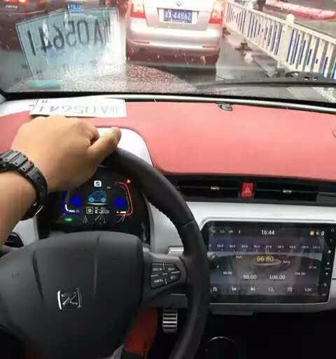 深圳众泰E200新能源纯电动汽车高清图片