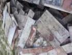 高价回收工地废旧材料,顶木、方木、模板