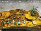 根雕摆件根雕茶海心经花鸟实木板桌餐桌会议桌办公桌学生桌