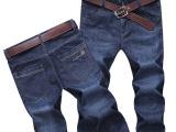 厂家特惠价 2015新款男式牛仔裤商务时尚牛仔裤修身长裤#929