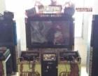 动漫城游戏机回收跳舞机赛车机框体机回收