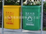 厂家直销 环保垃圾桶 户外垃圾箱 压模玻璃钢垃圾桶 机压玻璃钢桶