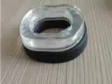 订做头戴式耳机皮耳套 厂家直销硅胶皮耳套 吸塑热压可定制