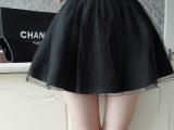 2014夏季新款 韩版女装网纱大裙摆半身裙蓬蓬裙短裙