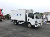宝鸡庆铃五十铃KV600 4.2米冷藏车医药保鲜冷藏车急切出