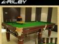 转让英国进口品牌riley台球桌 品牌台球桌出售 钢库台球桌