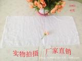 毛巾厂家直销一次性白毛巾40克纯棉酒店洗浴足浴一次性白毛巾批发