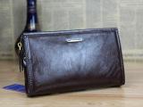 新款牛皮时尚商务正品拉链长款男士钱包 手拿手抓男士手包88801