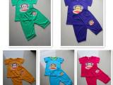 厂家直销儿童套装 圆领纯棉男童女童套装 童装 清仓