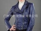 工厂直销 精准版型 外贸女士PU皮衣
