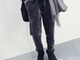 秋冬新款 毛茸茸的神裤百搭加绒卫裤超厚加