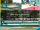 广州充气足球场充气体操垫充气运动会道具厂家直销