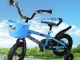 儿童自行车男女宝宝正品童车121416寸带提手童车