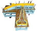 东莞柏瑞安全气囊检具 脚刹踏板总成检具 焊接支架检具