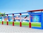 南昌 兴邦宣传栏 校园宣传栏 城市文明建设不锈钢