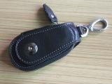 广州皮具厂家加工定制真皮钥匙包批发。