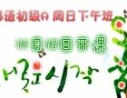 深圳龙和韩语 零基础培训班 外教精品班