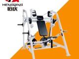 广西百色商用健身器材健身房挂片力量悍马坐式三头下压训练器设备