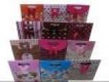 批发2012韩式新款礼品袋粘扣袋韩式手提喜糖袋婚庆喜糖盒包装纸袋