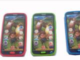 厂家批发儿童仿真玩具手机 多功能儿童益智触摸屏早教玩具带录音