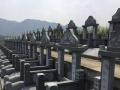 墓碑定做 石碑刻字 墓地狮子 龙柱定做送货安装