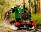 墨尔本企鹅岛+原始森林+蒸汽火车+烤肉风味午餐行程
