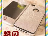 正品iphone5彩色贴膜iphone4全身贴膜苹果5代手机膜闪