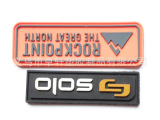 硅胶环保皮标 PVC软胶皮标定做 无纺布箱包皮标