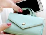 厂家直销韩版皇冠5S 4S手机壳套批发手机包小钱包卡包零钱包批发