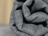厂家直销 全棉经纬竹节染色帆布家纺工艺品面料