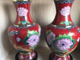 景泰蓝花瓶 工艺品 摆件 景泰蓝花瓶