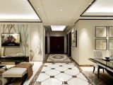 曹妃甸华理家园190平米四居轻奢风实创装饰案例分享
