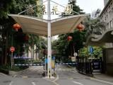 深圳华宇定做小区停车棚 收费岗亭遮阳棚等各式雨棚