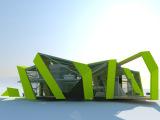 户外艺术空间设计 景观雕塑设计 岗亭设计制作
