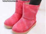 2014女冬季童鞋 儿童雪地靴 男童女童保暖鞋童鞋新款冬韩女鞋批