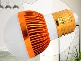 智照明超高亮 LED 大功率球泡灯3W5W7W E27灯 头 L