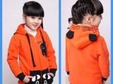 2013童韩版卫衣童套装 新款儿童棉衣外