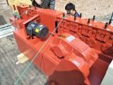 建筑租赁站 脚手架扣件架子管用钢管调直机 原理与型号的分析