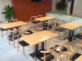 专注快餐桌椅饭店快餐桌椅实木餐厅桌椅量身定制厂家