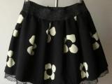 花朵蓬蓬裙半裙花苞短裙子打底裙毛呢秋冬天