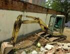 湘潭地区找挖土机做事就找众兴租赁