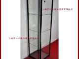 供应新型铝合金精品手办车模饰品展柜展示柜玻璃柜方形 型号F-1