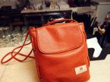 猫猫包袋2013新款韩版休闲可爱纯色水桶包单肩潮女包