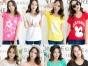 低价厂家供货 女式T恤衫货源厂家直销一手货源
