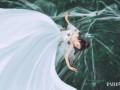 胸小的新娘婚纱照怎么拍好看