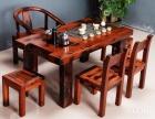 柳州市老船木茶桌椅子仿古茶台实木沙发茶几餐桌办公桌家具博古架