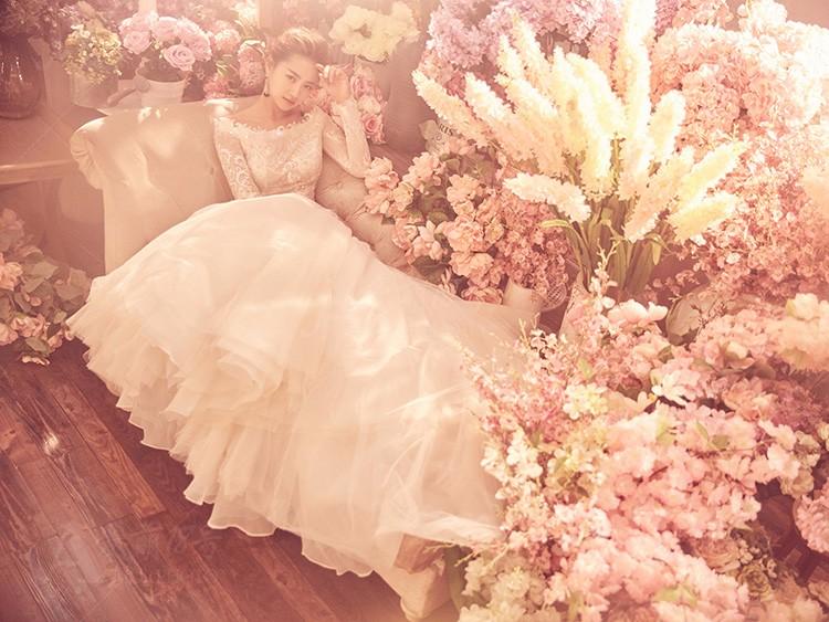 单人的镜头,教你摆出婚纱摄影美美姿势