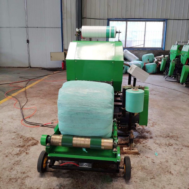 畜牧养殖业专用青储打包机设备优势