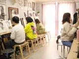 成都高新区学画画培训班 华阳中和镇天府五街美术素描培训班